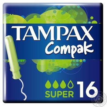 Тампоны Tampax Super Duo 16шт - купить, цены на Метро - фото 2