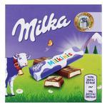 Шоколад Milka Milkinis молочна начинка 43.75г