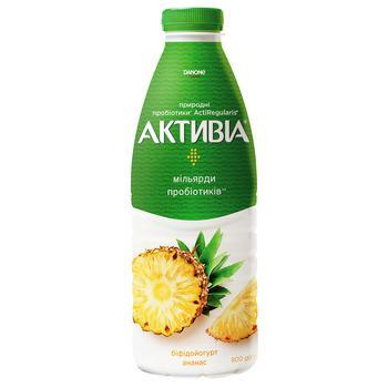 Бифидойогурт Активиа ананас 1,5% 800г