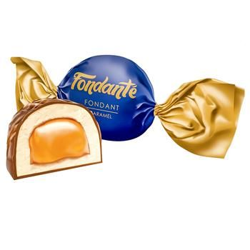 Elvan Fondant Chocolate Candies with Caramel Flavor by Weight