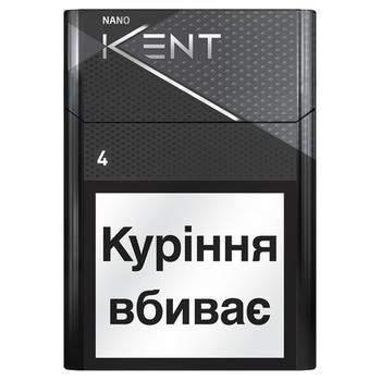 Kent Nano Silver cigarettes - buy, prices for EKO Market - photo 1