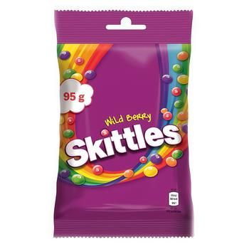 Драже Skittles Дикі ягоди 95г - купити, ціни на Ашан - фото 1