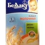 Baby milk porridge Bellakt Rice and oat for 5+ months babies 250g Belarus