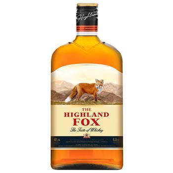Настойка The Highland Fox 40% 0,5л - купить, цены на ЕКО Маркет - фото 1