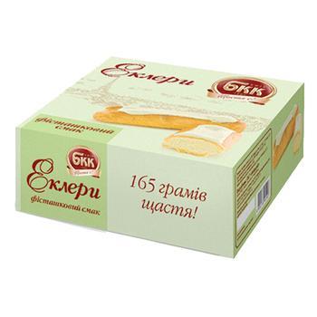 Пирожные БКК Эклеры Фисташковый вкус 165г - купить, цены на Фуршет - фото 2