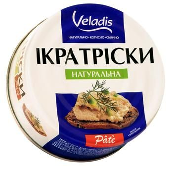 Veladis Pate Natural Atlantic Cod Caviar Can 100g - buy, prices for CityMarket - photo 1