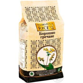 World's Rice buckwheat flour 900g - buy, prices for Novus - image 2