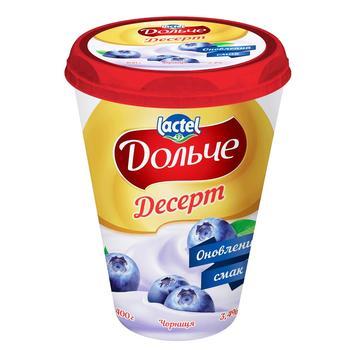 Десерт сирковий Дольче чорниця 3,4% 400г