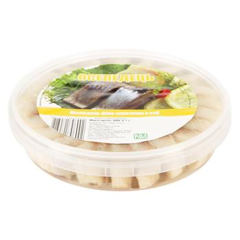 No.1 Herring Fillet Pieces in Oil 300g - buy, prices for Tavria V - image 1