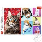 Trefi Toy Puzzle Happy Cats