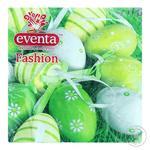 Салфетки столовые Paper&Design Eventa Fashion с рисунком 33x33см