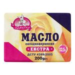 Масло Заречье екстра солодковершкове 82.5% 200г - buy, prices for Auchan - photo 1