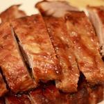 Запеченная свинина в аджике