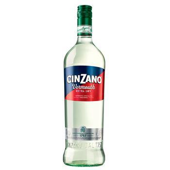 Вермут Cinzano Extra Dry 1л