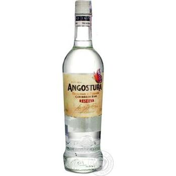 Ром Angostura Caribbean Reserva 37,5% 0,7л - купить, цены на Ашан - фото 1