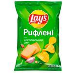Чипси Lay's зі смаком королівського сиру 120г