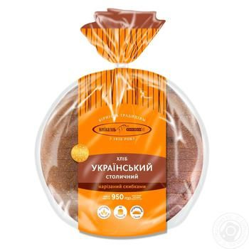 Kyivkhlib Ukrainian Stolychnyi Sliced Bread 950g - buy, prices for CityMarket - photo 2