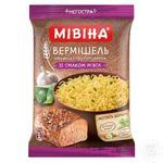 Вермишель Мивина со вкусом мяса 60г