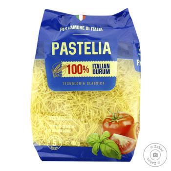 Макаронные изделия Pastelia вермишель короткая 400г - купить, цены на Novus - фото 1