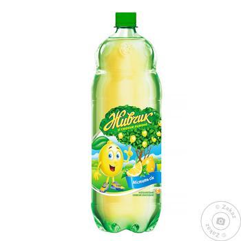 Напій безалкогольний Живчик зі смаком лимон соковмісний сильногазований 2л - купити, ціни на Novus - фото 2