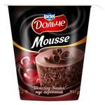 Мус Дольче шоколад-вишня аерований 3,2% 100г