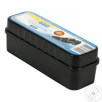 Didie Black Sponge For Shoes With Wax - buy, prices for Tavria V - image 1