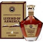 Коньяк Legend of Armenia 4 года выдержки 40% 0.5л