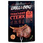 Grill&BBQ Pripravka Приправа для мяса и курицы Техасский стейк с сычуанским перцем чесноком и солодом 30г