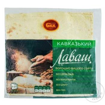 Лаваш БКК Кавказский 230г - купить, цены на Метро - фото 1