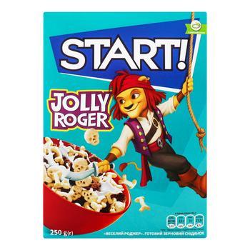 Сухой завтрак Start Веселый Роджер 250г - купить, цены на СитиМаркет - фото 1