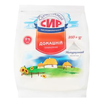 Bilotserkovsky Cottage cheese 9% 350g