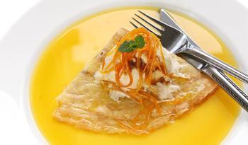 Апельсиновий соус до млинців