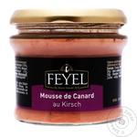 Качиний мус FEYEL з Кіршем 180 г (Франція) И8007