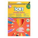 Карандаши цветные Cool for school Extra Soft 18 цветов