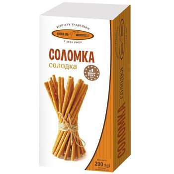 Соломка Київхліб солодка 200г - купити, ціни на Ашан - фото 1