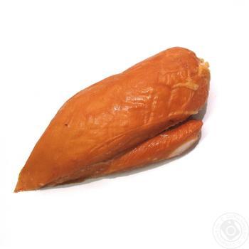 Филе куриное варено-копченое - купить, цены на Ашан - фото 1
