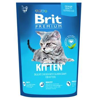 Корм сухий Brit Premium курка для кошенят 1.5кг