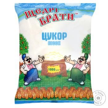 Shchedri Braty Sugar - buy, prices for MegaMarket - image 1