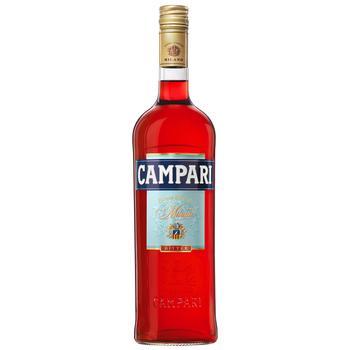 Настоянка гірка Campari 25% 1л - купити, ціни на Метро - фото 1