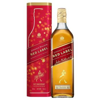 Johnnie Walker Red Label Whisky 40% 0,7l - buy, prices for Auchan - photo 1