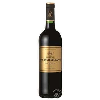 Chateau du Grand Soussans red dryb wine 13% 0,75l