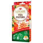 Фільтр пакети Lovare для заварювання чайних сумішей 50шт/уп