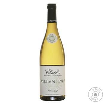 Вино Domaine William Fevre Chablis белое сухое 12.5% 0.75л