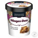Морозиво Haagen-Dazs Праліне пломбір 400г