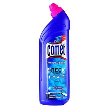 Гель Comet Двойной эффект Океанский бриз чистящий универсальный 1л