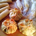 Сардини в мішечках з тіста