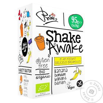 Напиток овсяный Shake Awake банан 5шт*19г