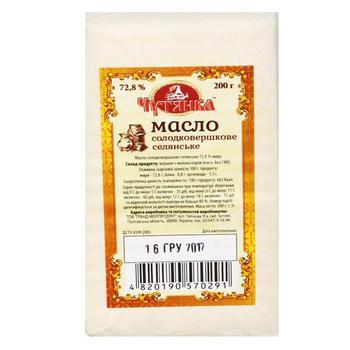 Масло-содержащий продукт Чутянка 72,8% 390г