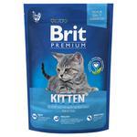Корм сухой Brit Premium с курицей для котят 300г