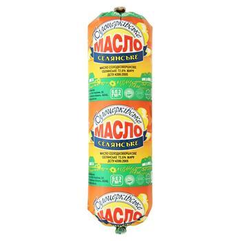 Масло солодковершкове Білоцерківське Селянське 72,6% туба 400г - buy, prices for Auchan - photo 1